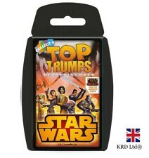 TOP TRUMPS STAR WARS REBELS CARD GAME Family Kids Fun Quiz Christmas Gift UK
