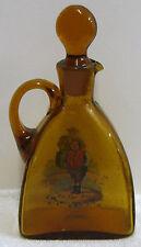 1800's Czeck Republic Blown Glass Carafe w Tony Weller Little Nell n The Fat Boy