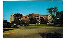 1950's postcard- Purdue University Field House and Gymnasium, Lafayette, Ind.