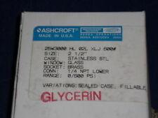 Ashcroft 25W3000Hl02Lxlj-600# Pressure Gauge 0-600 Psi *New In Box*
