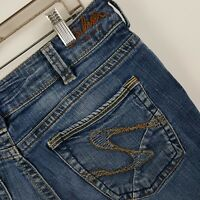 Silver Suki Slim Women's Medium Wash Blue Jeans Size 30 x 32