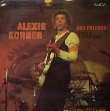 Alexis Korner And Friends. Jam-Session zum 50.Geburtstag. AMIGA/ DDR. EX-NM/ EX