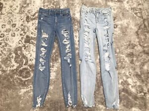 American Eagle High Rise Jegging Size 0 - Set Of 2