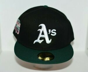 OAKLAND ATHLETICS 1989 WORLD SERIES EXCLUSIVE NEW ERA FITTED HAT - SIZE 7 5/8