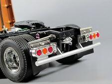 Aluminum Rear Lower Bumper Guard Tamiya RC 1/14 Semi Knight Hauler Tractor Truck