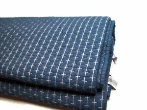 Pottery Barn Teen Yarn Dyed Denim Blue Stitch Twin Quilt New