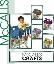 McCalls Sewing Pattern 5124 Infant Baby Grocery Cart Liner Toys Craft