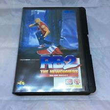 Fatal Fury Real Bout 2 Neo Geo AES, Japanese Import NA Seller