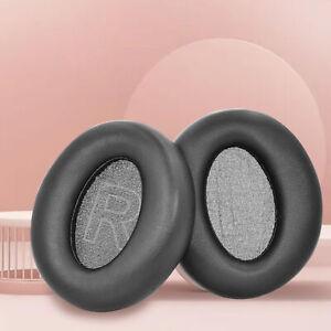 1 PAIR HEAD-MOUNTED EAR CUSHIONS FOR ANKER SOUNDCORE LIFE Q20/Q20 BT