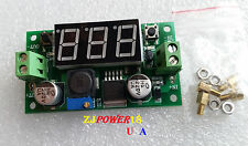 LM2596S DC-DC Buck Step Down Converter Power Module with With Led Voltmeter