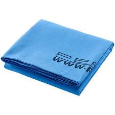 Mikrofaser Handtuch: Extra-saugfähiges Mikrofaser-Badetuch, 180 x 90 cm, blau