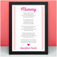 NANNY NAN MUMMY GRANNY MUM Personalised Birthday Gifts from Son Daughter Baby