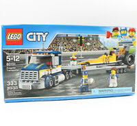Lego City Dragster Transporter Set #60151, Retired New & Factory Sealed Box