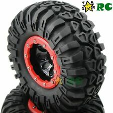 4pcs NEW RC 2.2 Crawler Tires 130mm & 2.2 Beadlock Wheels For 1/10 RC Crawler