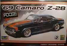 REVELL CHIP FOOSE CUSTOM 1969 CAMARO Z/28 LARGE 1:12 SCALE PLASTIC MODEL CAR KIT