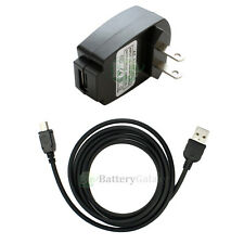 NEW Wall Charger+USB Cable for MP3 Sandisk Sansa Clip e130 e140 m240 m250 m260