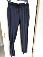 Mens Lululemon Black Pants Size Small Work O out Stretch Exercise Straight Cut