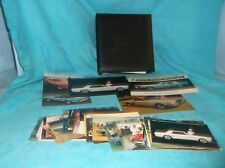 Large Lot of 67 Ford Mustang Postcards w/Embossed Mustang Folio For Display