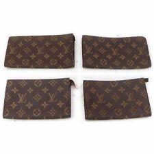 Louis Vuitton Monogram Cosmetic Pouch 4 pieces set 516717