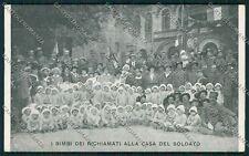 Bologna città Militari Casa Soldato cartolina QQ9118