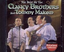 THE BEST OF THE CLANCY BROTHERS AND TOMMY MAKEM - CD