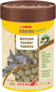 Sera 60g Viformo Nature Sinking Veggie 258 Tablet Fish Food Tropical Aquarium