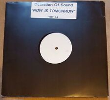"DEFINITION OF SOUND - Now Is Tomorrow ~12"" Vinyl Single *PROMO* (WHITE LABEL)"