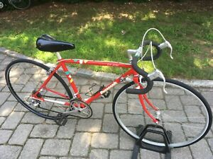 Panasonic DX 1000 vintage mens Japan racing bike mans red road touring bicycle