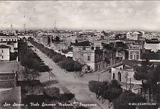# S. SEVERO: VIALE G. MATTEOTTI - PANORAMA   1956