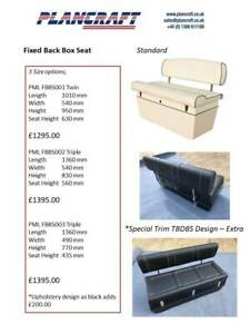 RIB Seating and Consoles - Made to order Bespoke Upholstery.