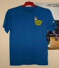 FOX Seek and Construct T-Shirt Blau Motocross Enduro MX DH Neu Yamaha Thor Shift