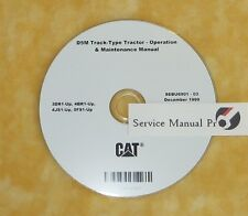 SEBU6901 CAT Caterpillar D5M Track Type Tractor Operation Maintenance Manual CD