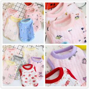 Cute Teacup Dog Clothes Size XXS XS Pet Summer Tee shirt for Puppy Rabbit Cat