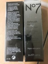 Boots No7  Airbrush Away Foundation Makeup in CHESTNUT 1 oz