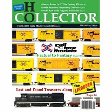HO COLLECTOR: Premiere Issue - First Edition (Just Published 2017) NEW MAGAZINE