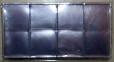 BUSTINA doppia 45x45 mm ECO Monete Medaglie PACCO da 100 PEZZI Masterphil
