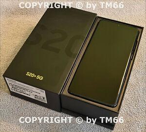 SAMSUNG GALAXY S20+ 5G G986B BLACK * fast wie NEU OVP * OHNE BRAND * VOM HÄNDLER
