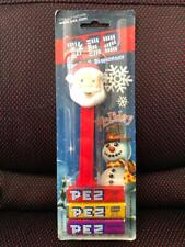Pez Holiday Candy Dispenser Santa Claus Frosty the Snowman Unopened New