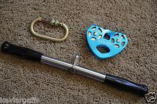 Zipline Trolley Handle Bars and Carabineer Zip Line Parts