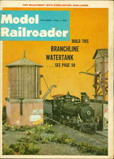 1965 Model Railroader Magazine: Branchline Watertank