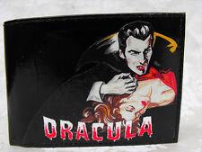 Dracula Monsters Horror Gothic Decorated Leather Wallet M162