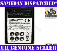 NEW HIGH CAPACITY BATTERY FOR HTC WILDFIRE S HD3 HD7 1500maH 1YR WARRANTY