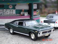 1970 Chevrolet Nova SS 396, 1:43 Rare Green & Black Version