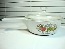 Corning Ware Spice of Life La Sauge 1 Pint Sauce Pan P-81-B with Lid