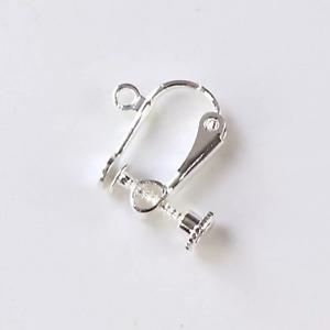 10pcs 925 Silver Earrings Hooks Findings Non Piercing Adjustable DIY Clips Gift