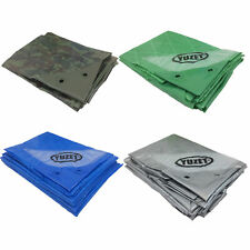 Yuzet Heavy Duty Reinforced Tarpaulin Waterproof Cover Tarp Ground Camping Sheet