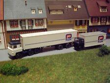 Konvolut Pracht Spedition Scania 111 Sattelzug + MB LP 809 1:87 H0 WIKING K458