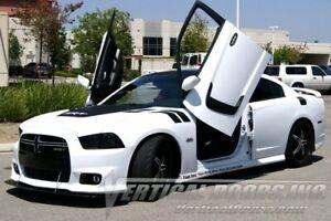 Dodge Charger 11-14 Lambo Style Vertical Doors VDI Bolt On Hinge Kit