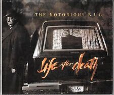 "COFFRET 2 X CD  ALBUM THE NOTORIOUS B.I.G  ""LIFE AFTER DEATH"""