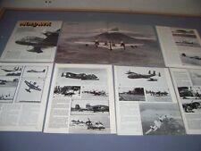 VINTAGE..GRUMMAN OV-1 MOHAWK..STORY/HISTORY/DETAILS/3-VIEWS ...RARE! (706F)